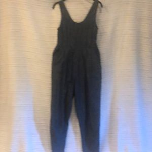Chambray jumpsuit